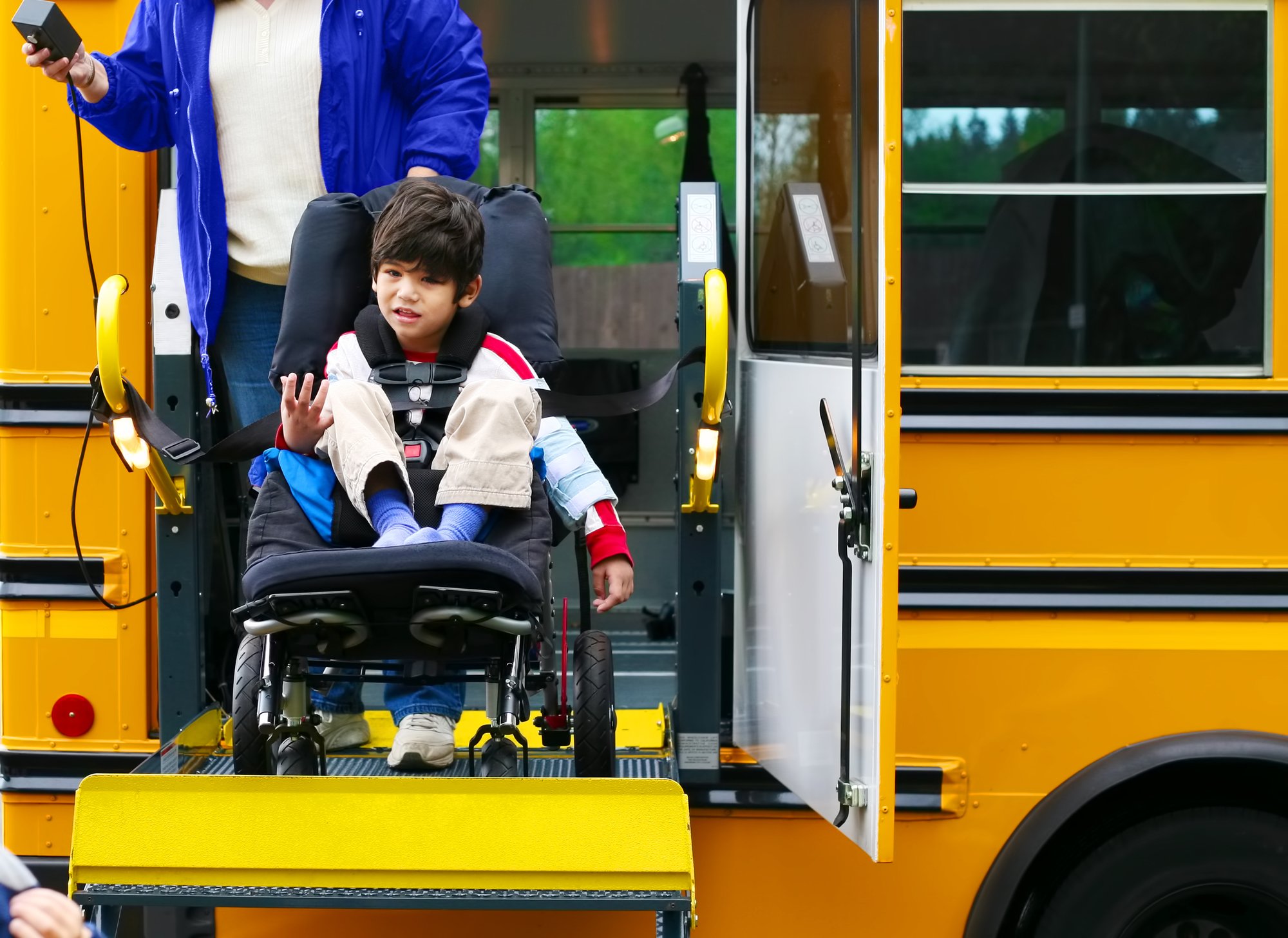Wheel Chair Friendly Bus Approved By SWCSD#2