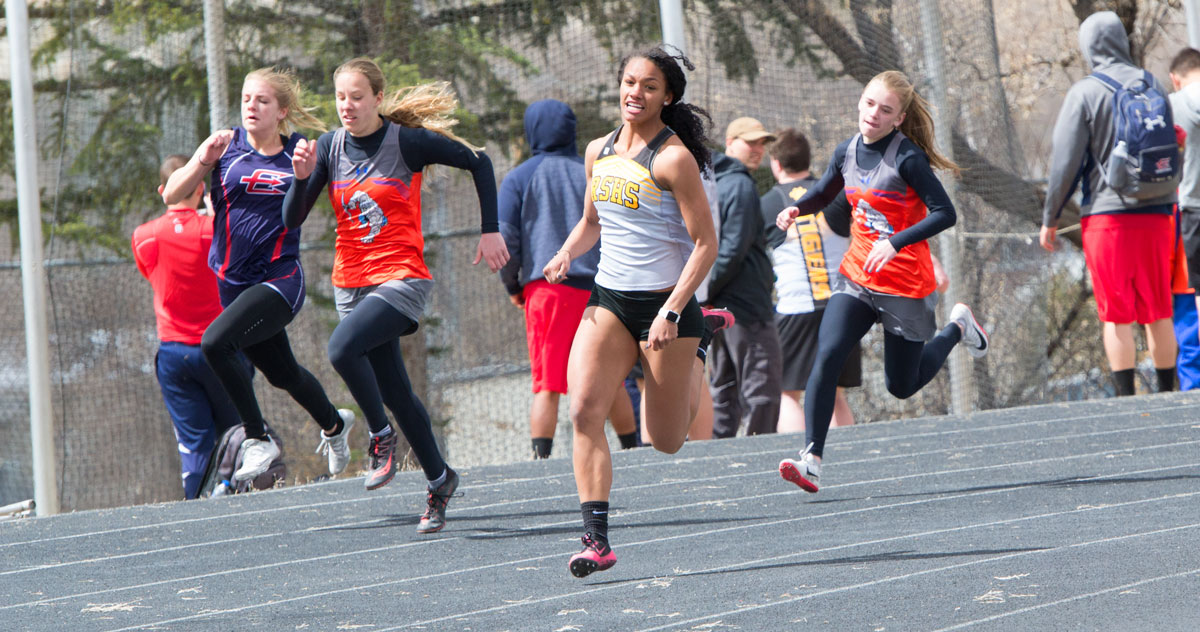 RSHS Track & Field Takes First at Home Meet