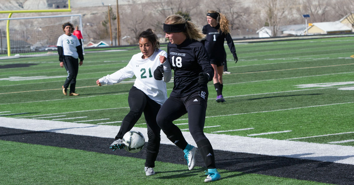 GRHS Girls Soccer Drops Tough Game to Jackson, 5-1 [PHOTOS]