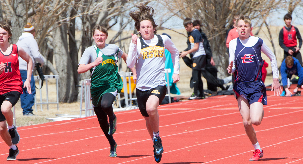 RSHS Track and Field Competes at Mountain Man Invitational