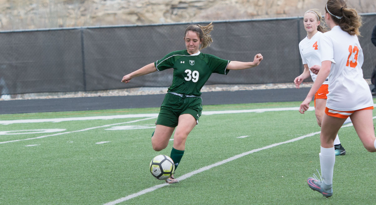 Lady Wolves Soccer Drops Close Game to Natrona, 4-3, in Overtime