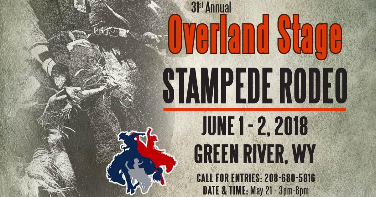 31st Annual Overland Stage Stampede Rodeo is June 1-2