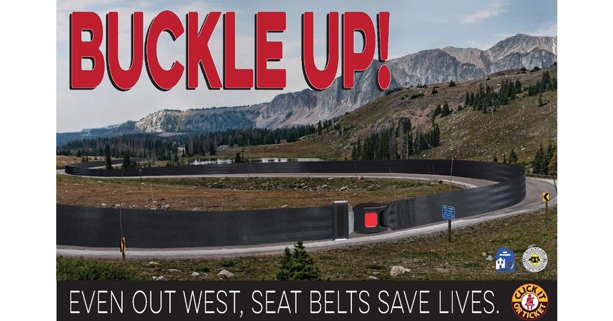 Click It Or Ticket Campaign Hits Sweetwater County This Memorial Day Weekend