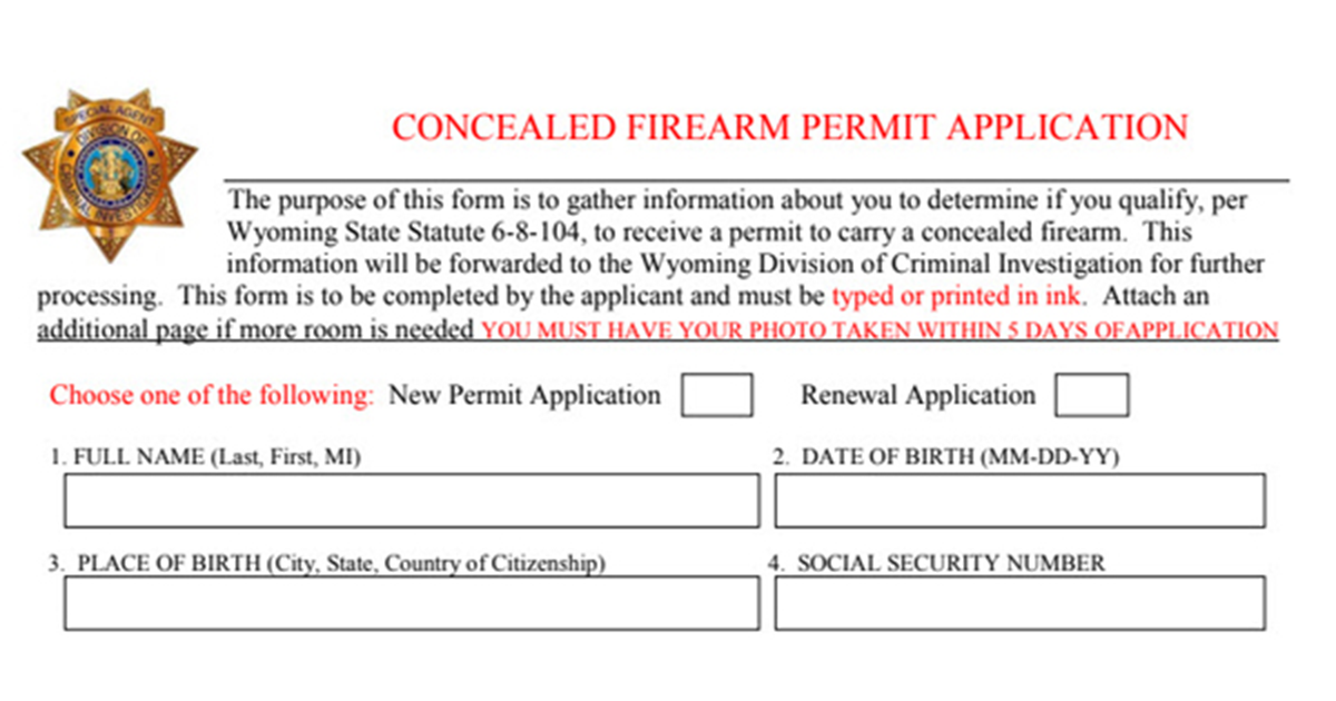 Concealed Firearm Permit Application, Renewal Information Available on Sheriff's Office Website