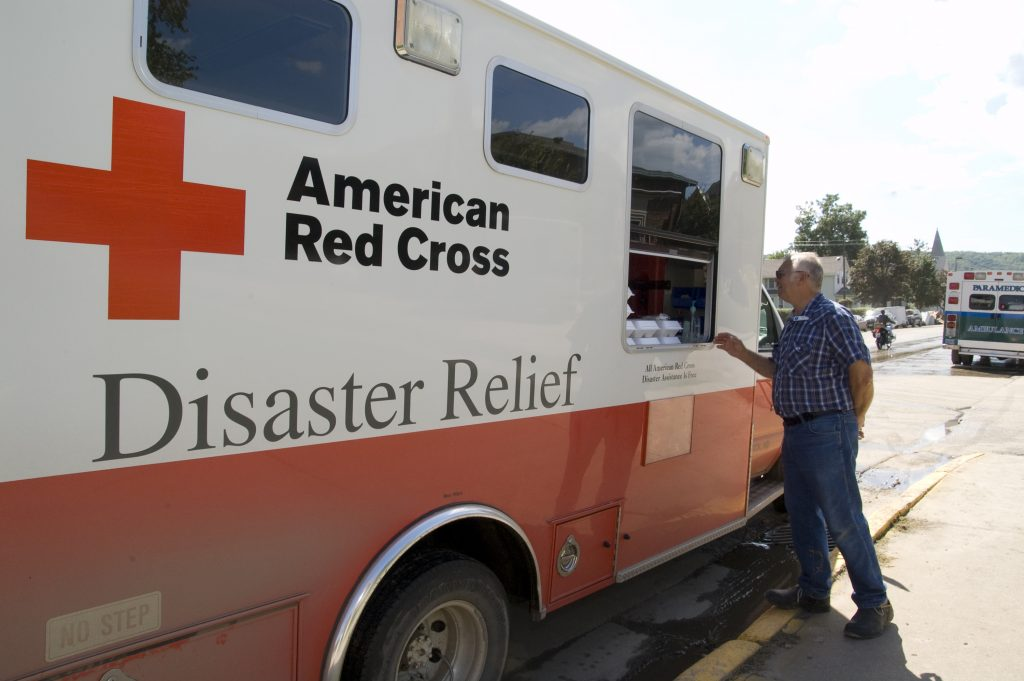 Red Cross Assisting Pinedale Couple Following House Fire
