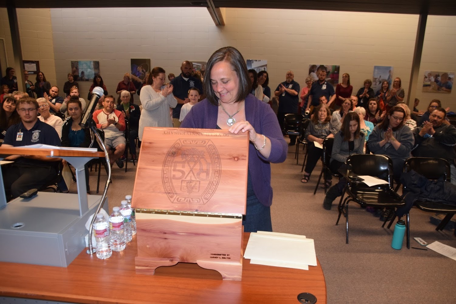 Time Capsule Steals the Show at Sweetwater #1 School Board