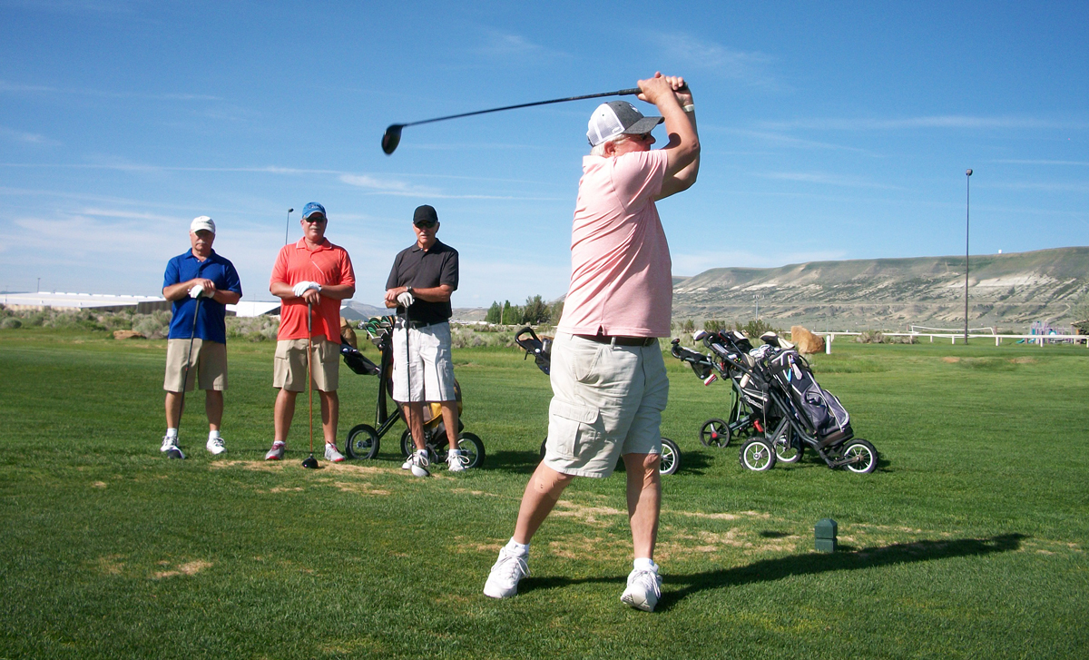 Winners of the Men's Senior Golf Association's May 31 Tournament Announced
