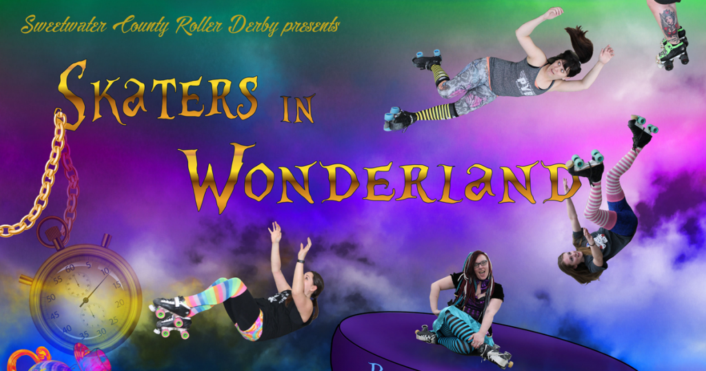Bombshells Kick Off Season with Skaters in Wonderland Bout!