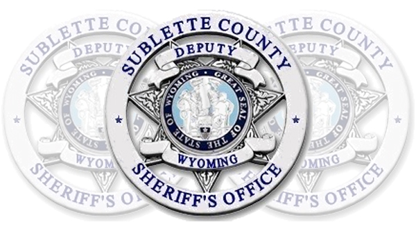 Sublette County Arrest Report December 31 – January 7