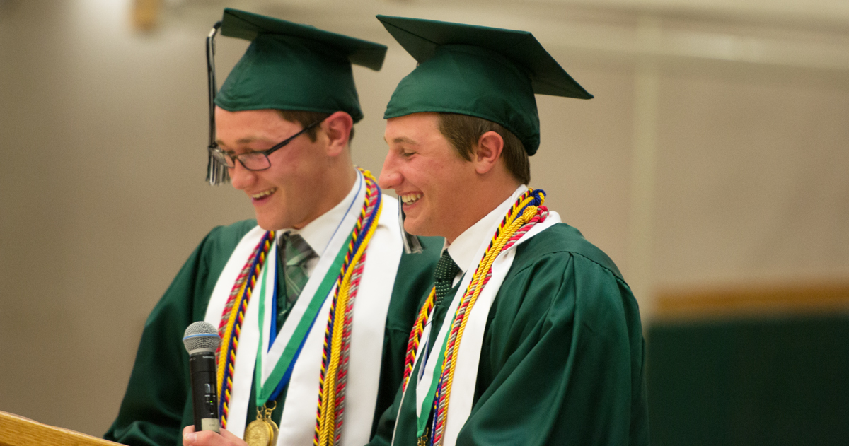 Green River High School Graduates 171 Students