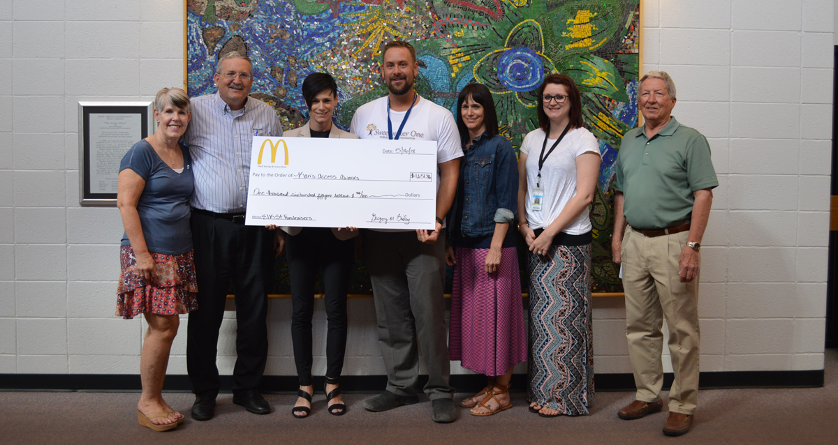 Kari's Access Awards Thanks Local McDonald's for Successful Community Fundraiser
