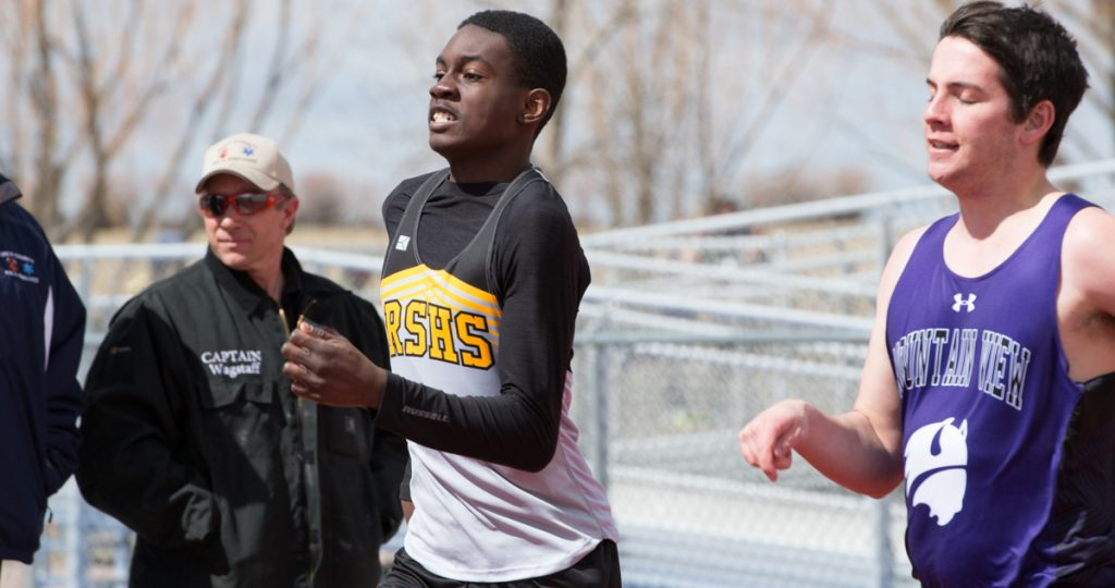 Tigers Track & Field Competes in Mountain View