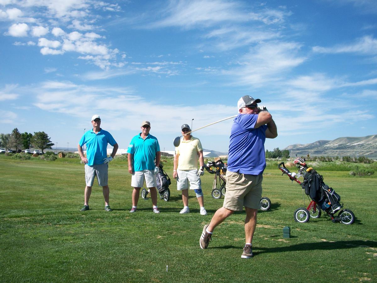 Winners of the Men's Senior Golf Association's June 14 Tournament Announced