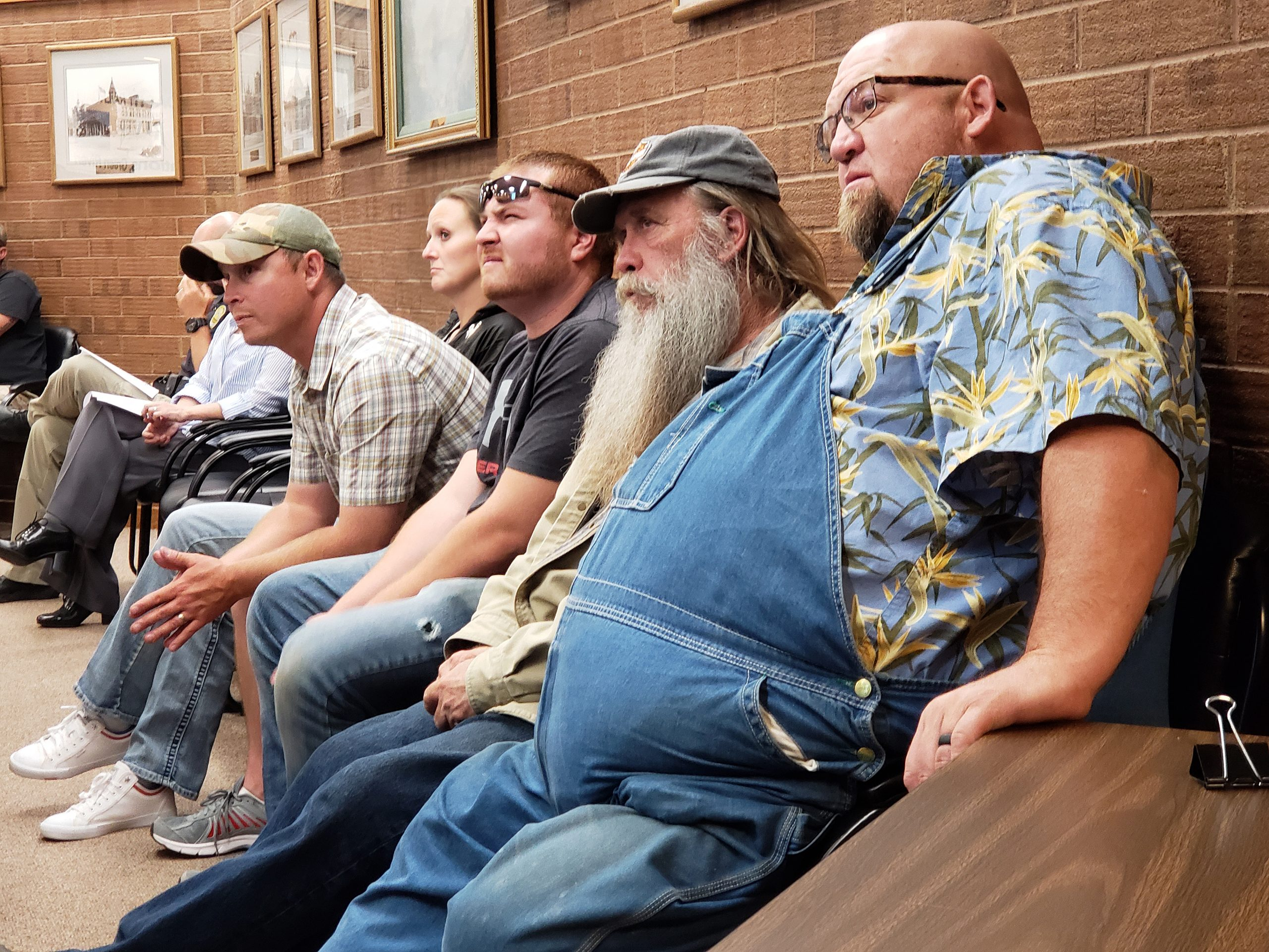 City Employees Attend Meeting In Anticipation of New Policy & Raises