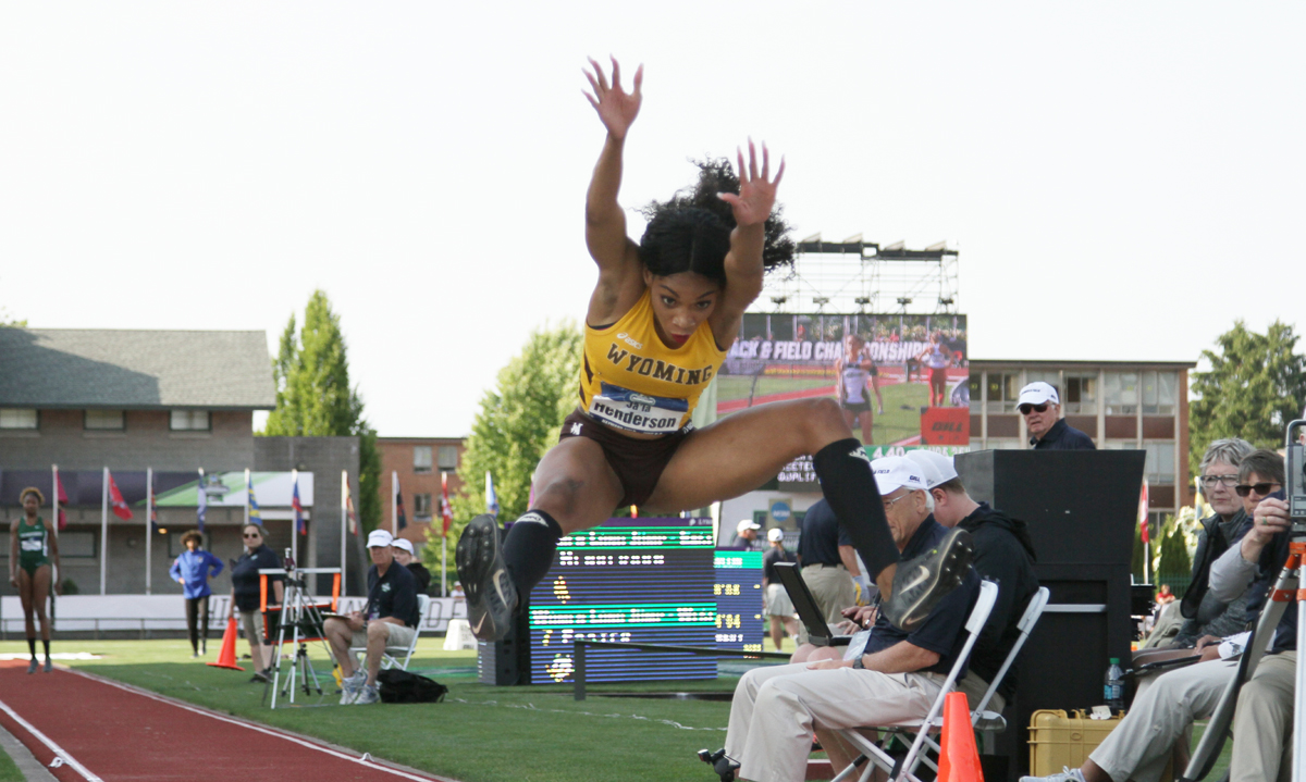 Ja'la Henderson Earns Second Team All-America Honors in Triple Jump at the NCAA Outdoor Track and Field Championships