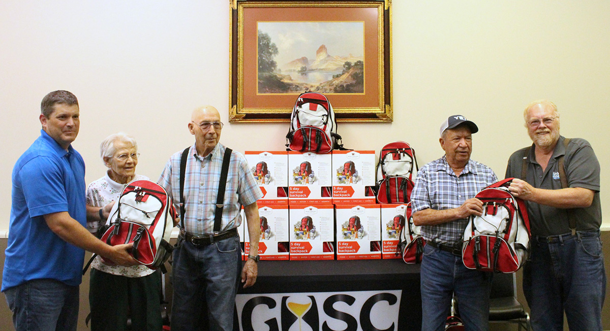 Tata Donates 175 Emergency Supply Kits for Green River Seniors