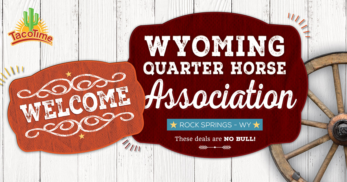 Taco Time Offers Free Delivery for WQHA Events
