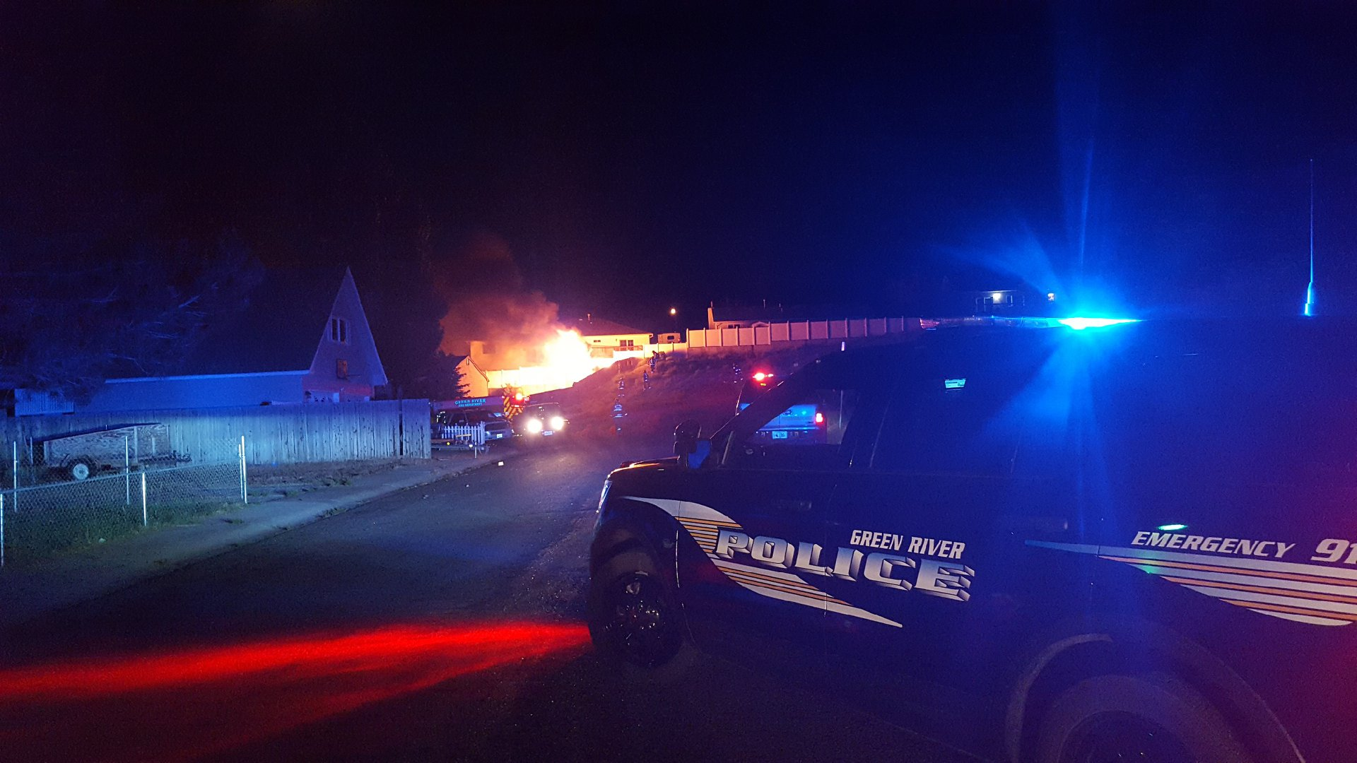 GRPD and GRFD Respond to Shed Fire