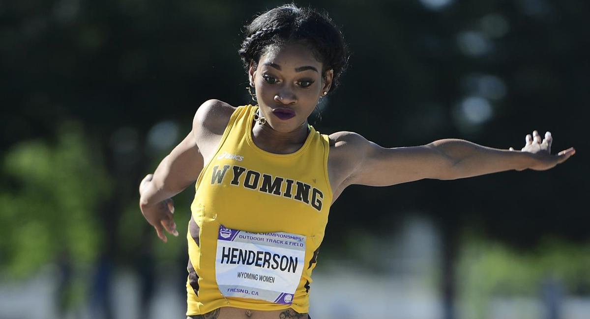 Henderson Earns Honorable Mention All-America Honors in Long Jump