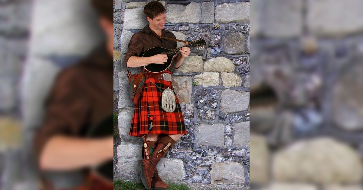 The Kilted Man Performing July 10 at White Mountain Library