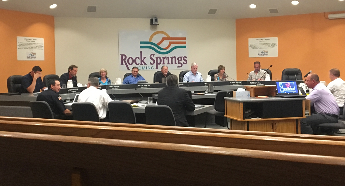 Wyoming Community Foundation Offers Help to Rock Springs City Council
