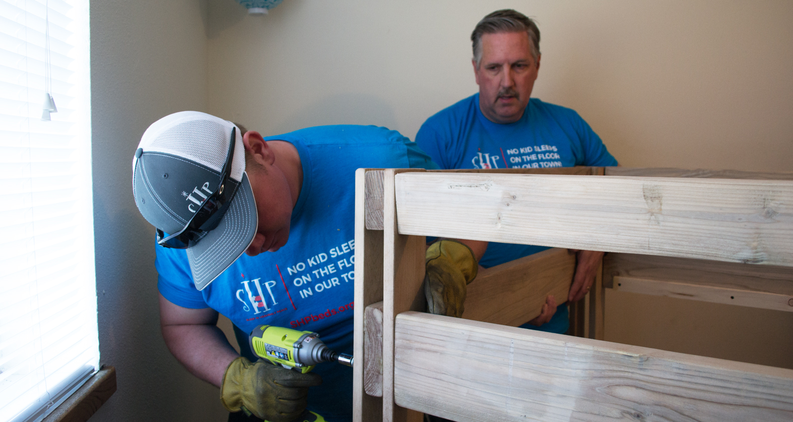 Community Members Give Back by Providing Beds to Kids in Need