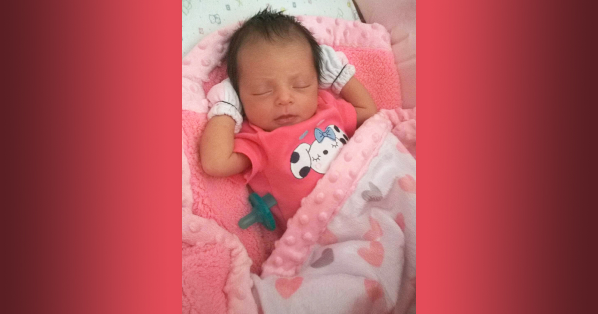 Birth Announcement: Dahila Joelle Echeverria