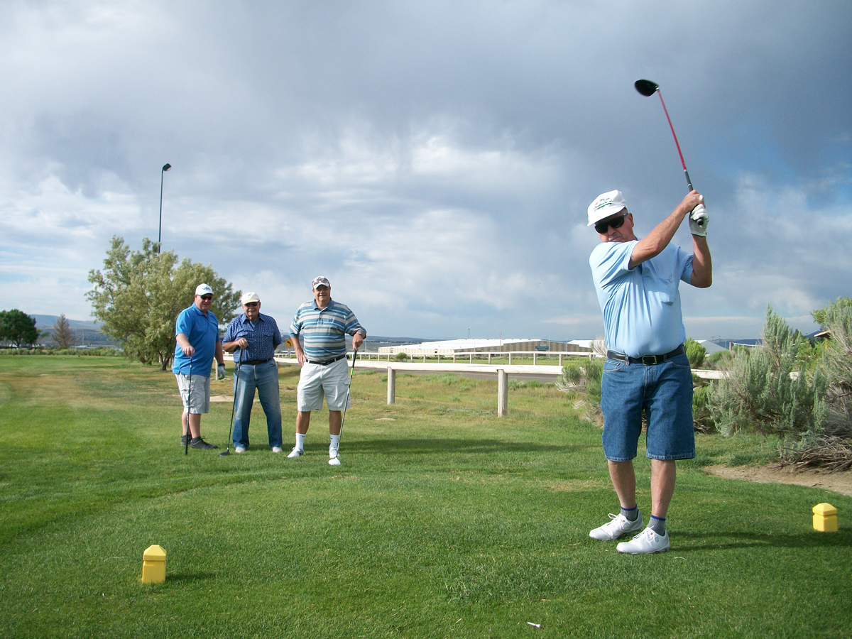Winners of the Men's Senior Golf Association's July 5 Tournament Announced