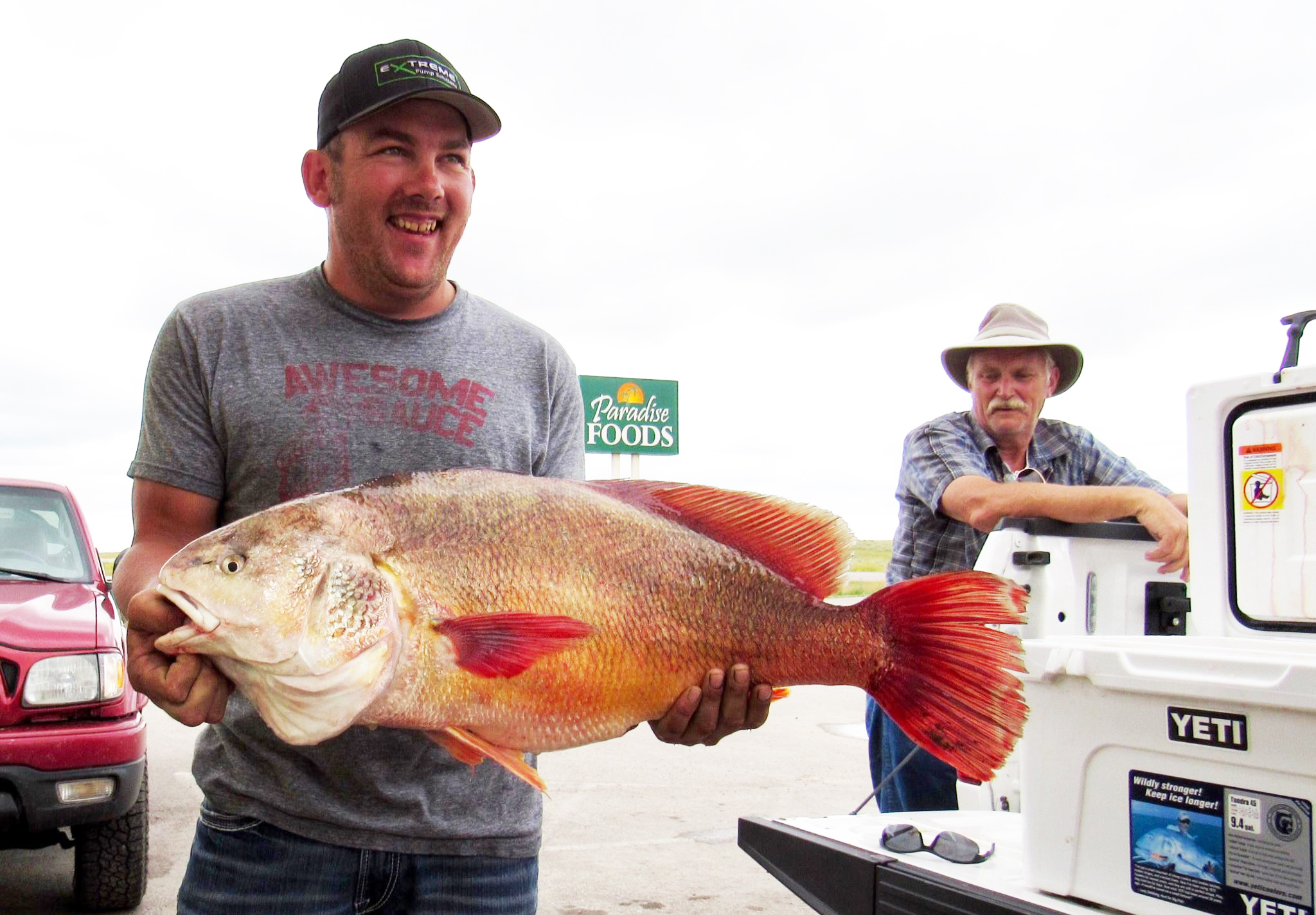 Gillette Resident Blows State Fishing Record for Freshwater Drum Out of the Water