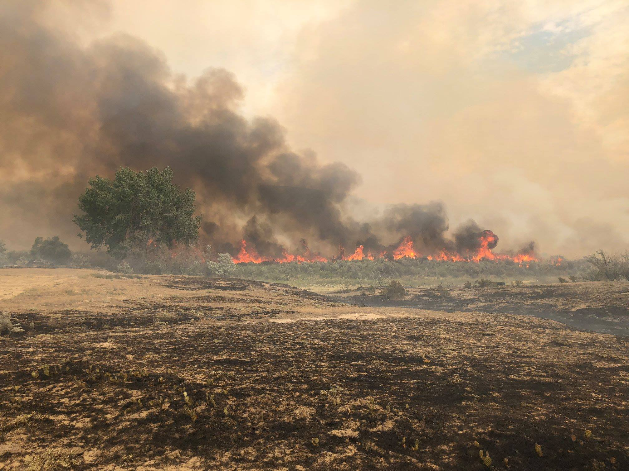 Terek Fire Near Worland Estimated at 40,000+ Acres
