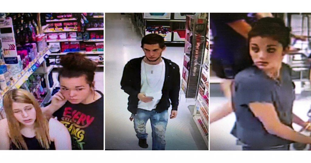 RSPD Seeks Public's Help Identifying Walmart Shoplifting Suspects