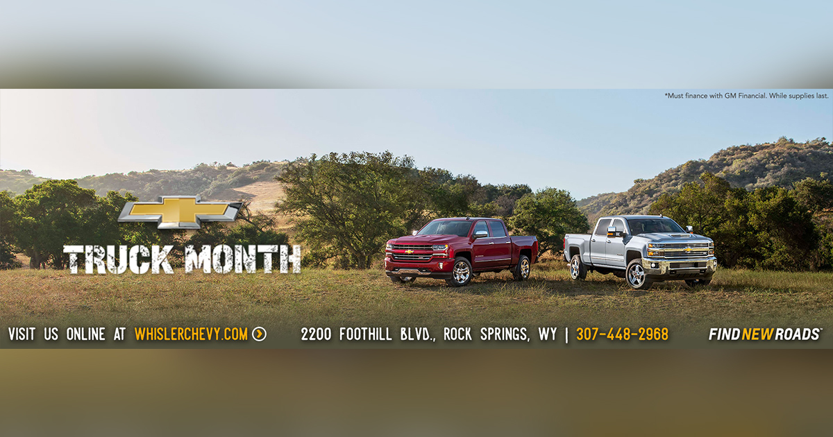 Celebrate Truck Month at Whisler with Deals on 2018 Chevy Silverados