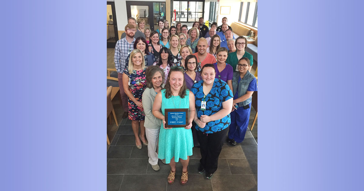 Hospital Earns Top Excellence Score