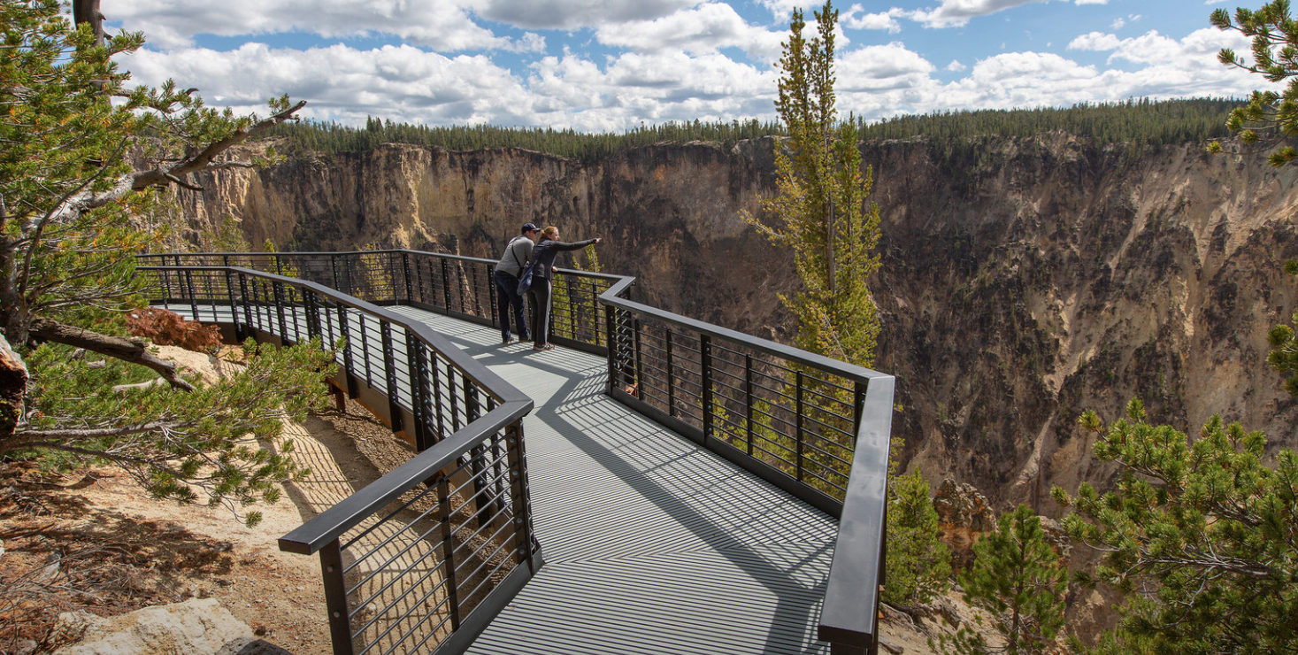 Inspiration Point Overlook in Yellowstone Opens After Two-Year Rehab Project