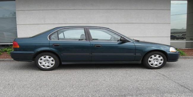 RSPD Seeks Help Locating Stolen Honda Civic