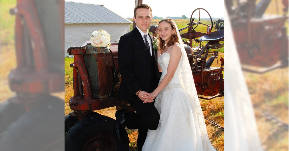 Samantha Stacey and Matthew Meadows Say Their Vows
