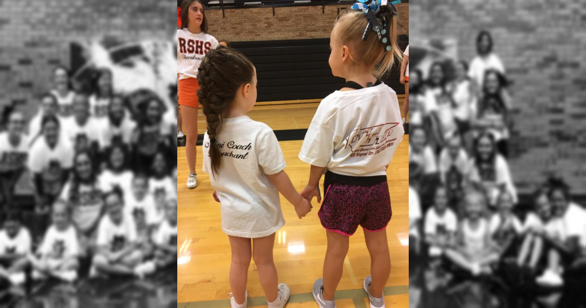 (PHOTOS) Gone Camping: RSHS Cheerleaders Teach Dozens of Little Girls at Annual Camp