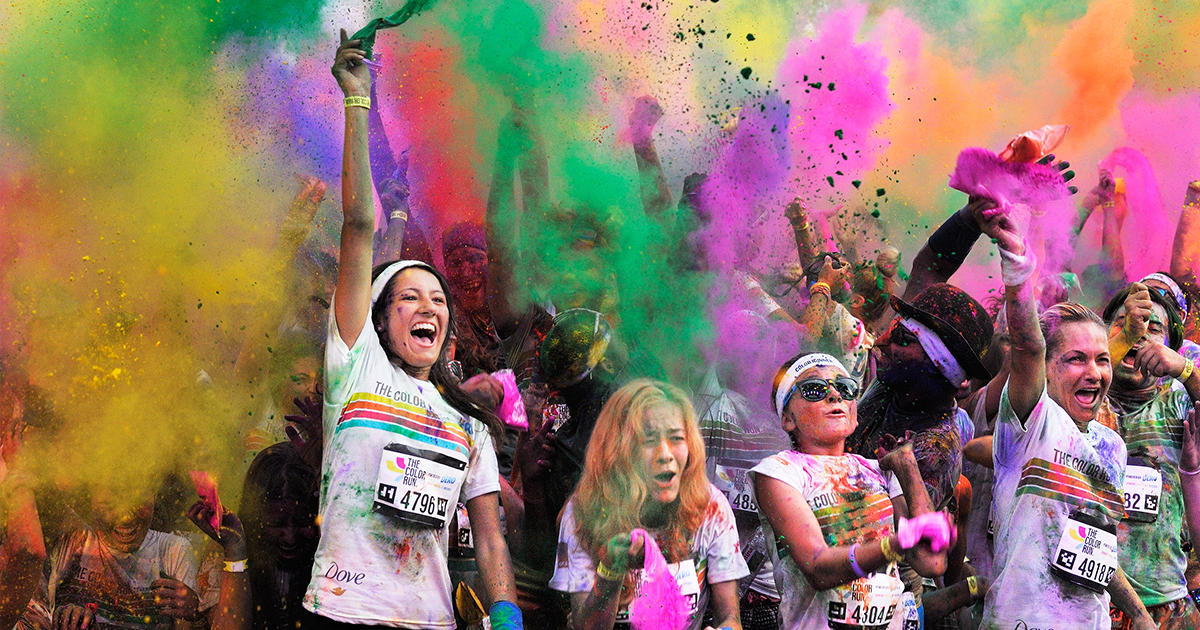 Support the Sweetwater County CDC at the Family Fun 5K Color Run