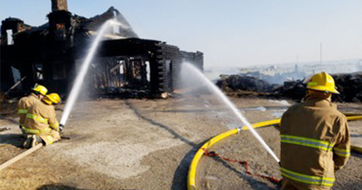 Sublette County Unified Fire Responds to Structure Fire