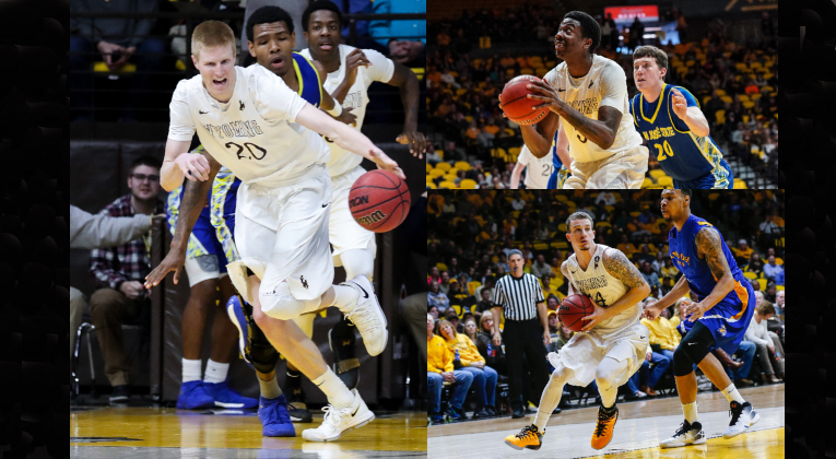 Three of a Kind: Former Wyoming Cowboys Sign Professional Basketball Deals