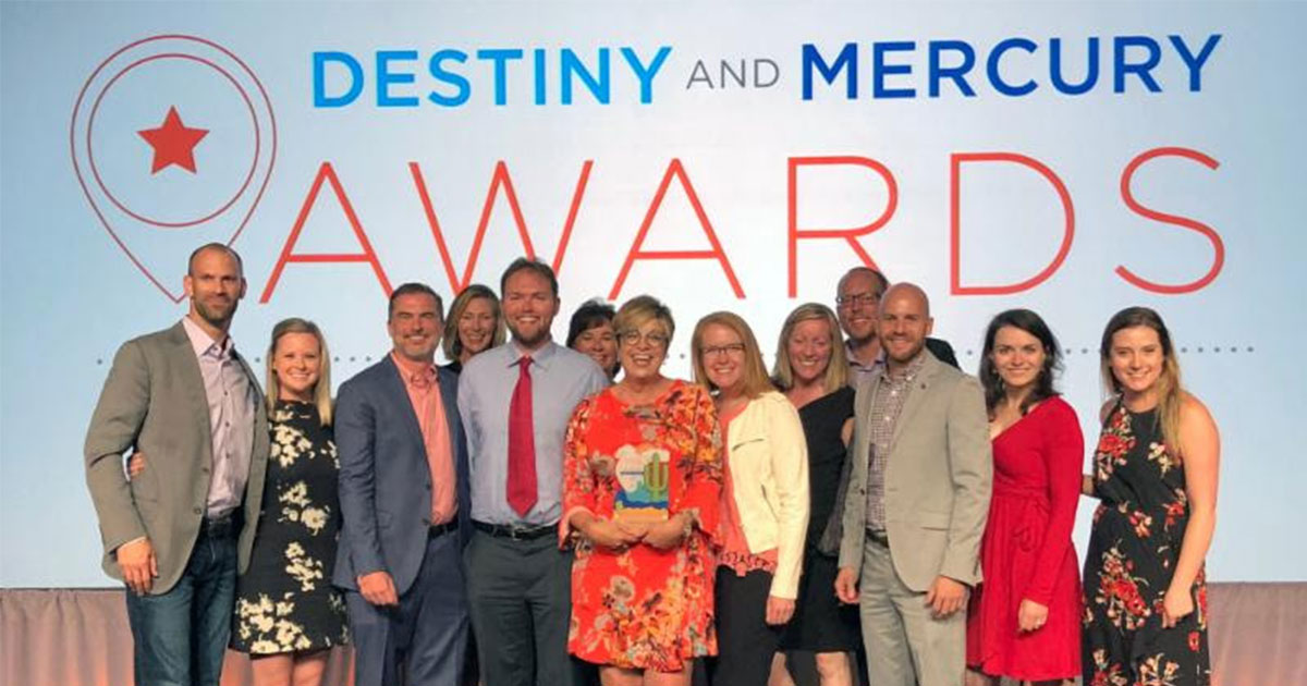 Wyoming Office of Tourism Receives Mercury Award for Website at ESTO