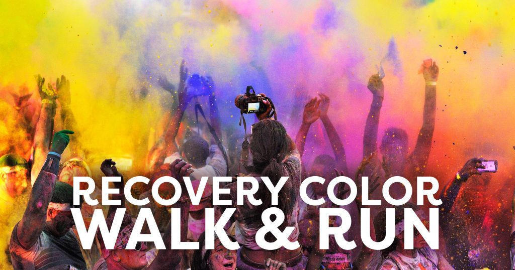 Celebrate Recovery Month with a Color Run & Walk