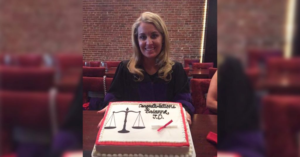Lear Family Celebrates Daughter Brianna's Bar Exam Milestone