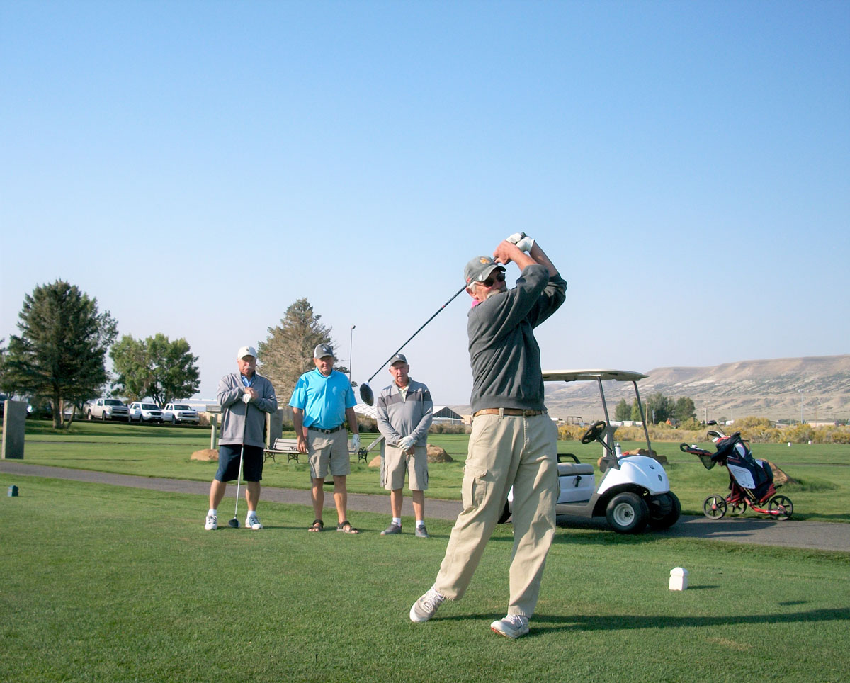 Winners of the Men's Senior Golf Association's September 13 Tournament Announced