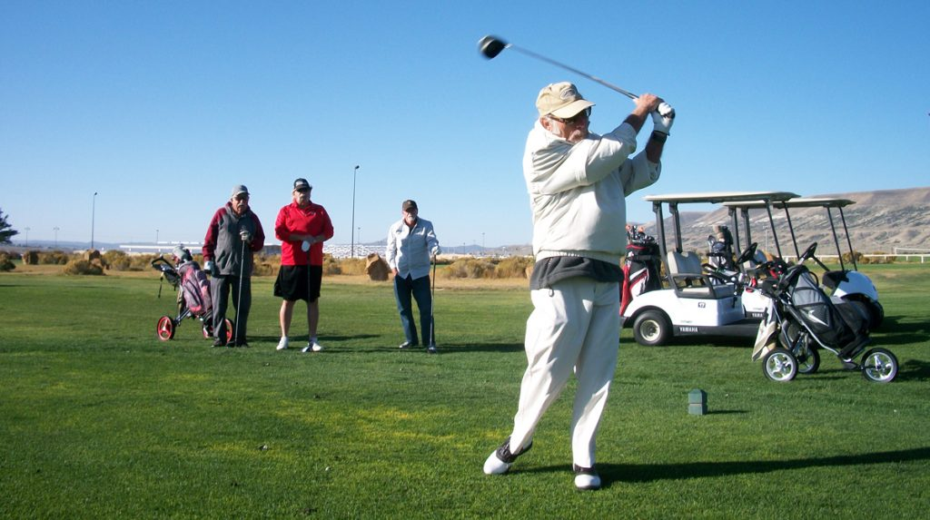 Winners of the Men's Senior Golf Association's September 20 Tournament Announced