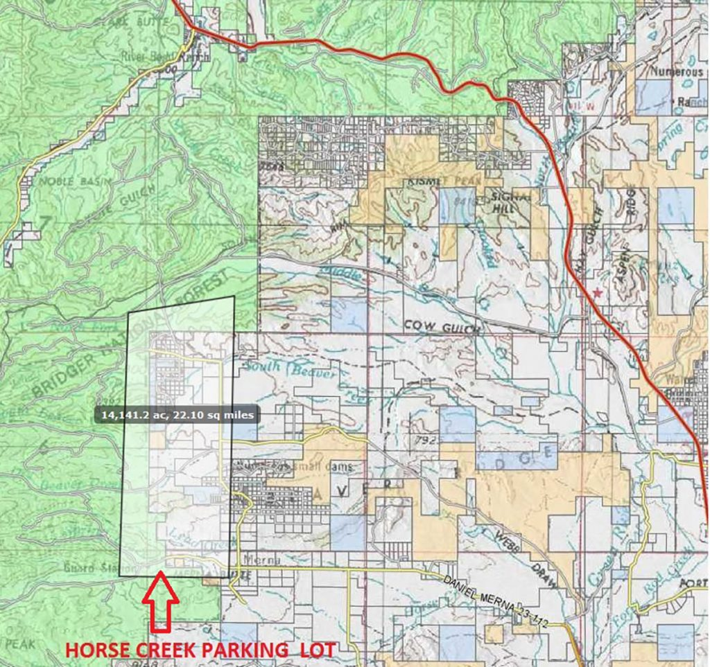 Evacuation Continues in Hoback Due To Roosevelt Fire
