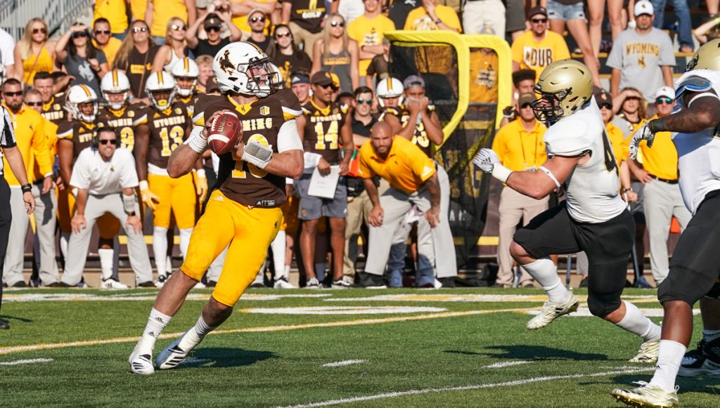 Back-to-Back Defensive Stands and a Dramatic Late Touchdown Secures a 17-14 Wyoming Victory