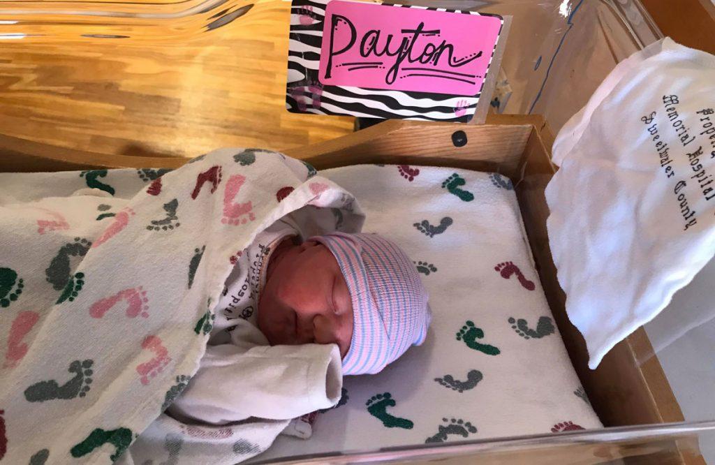 Birth Announcement: Payton Mikel Titgen