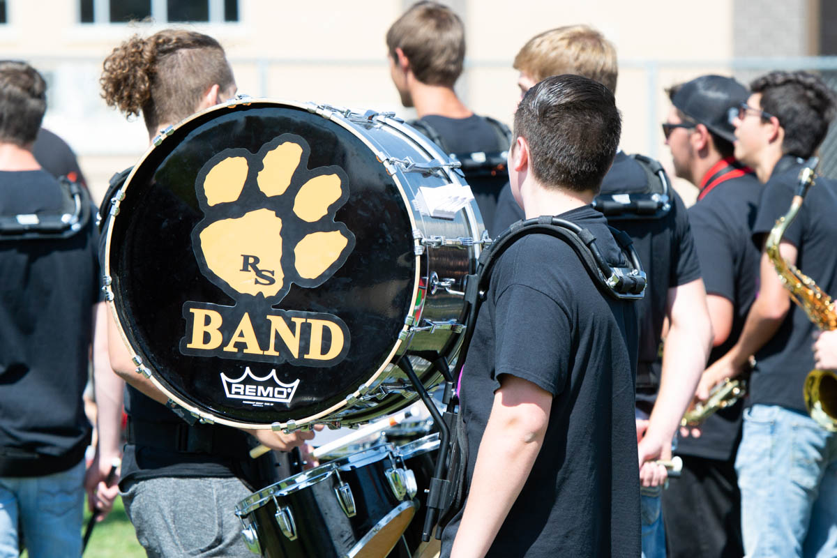 Rock Springs High School Band Visits the Elementary Schools [PHOTOS]