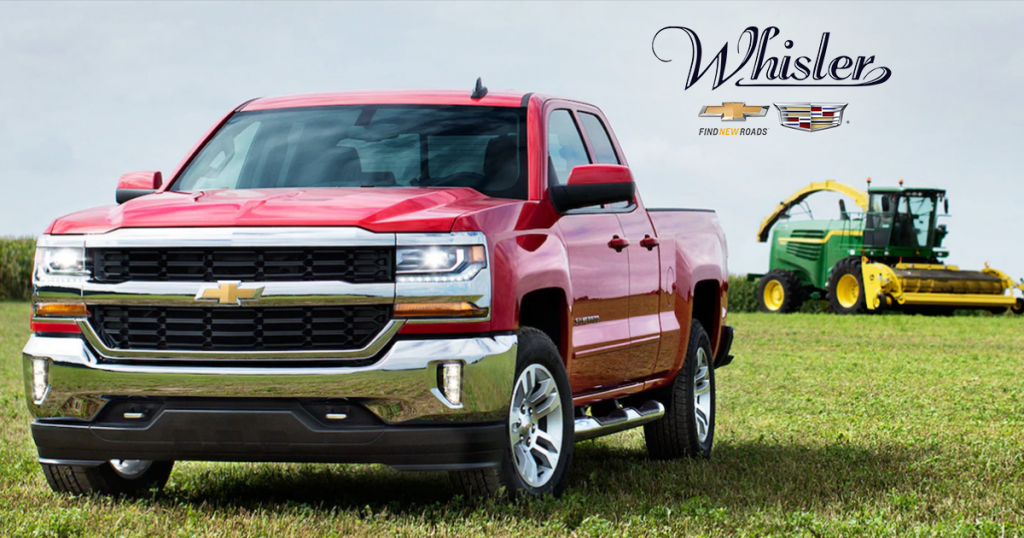 Save on the 2018 Chevy Silverado LT at Whisler Chevrolet & Cadillac